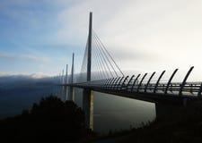 Millauviaduct royalty-vrije stock afbeeldingen