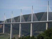 MillauViaduct, Frankreich Lizenzfreie Stockbilder