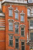 Millbank House facade Westminster  London UK. Millbank House Grade II listed building exterior, City of Westminster, Central Area of Greater London, UK Royalty Free Stock Images