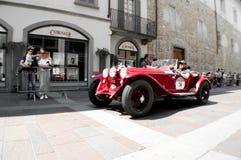 Mille的Miglia阿尔法・罗密欧6C 2016年 图库摄影