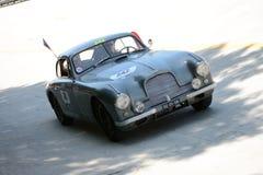 1952年Mille的Miglia阿斯顿・马丁DB2 免版税图库摄影