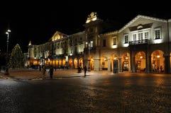 Mille Chanoux, la place principale de ½ de ¿ d'ï de Piazza dans Aosta Image stock