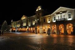 Mille Chanoux, la place principale de ½ de ¿ d'ï de Piazza dans Aosta Images stock