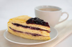 Mille crepe Royalty Free Stock Image