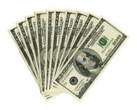 Mille dollari Immagini Stock