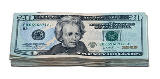 Mille dollari (con il percorso di residuo della potatura meccanica) Immagini Stock Libere da Diritti