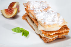 Mille feuille Stock Image