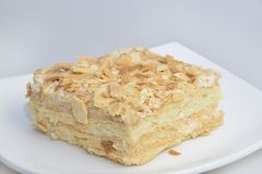 Mille-feuille cake Stock Photography