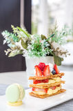 Mille Feuille, French Pastry Royalty Free Stock Image