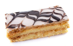 Mille Feuille or Napolean pastry Stock Photos