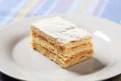 Mille-feuille pastry Stock Photos