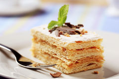 Mille-feuille pastry  Stock Image