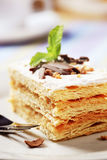 Mille-feuille pastry Royalty Free Stock Photography