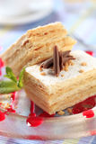 Mille-feuille pastry Stock Photo