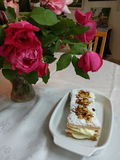 Mille-feuilles DESERT Royalty Free Stock Photos