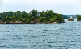 Mille isole vicino a Kingston Ontario fotografia stock libera da diritti