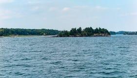 Mille isole vicino a Kingston Ontario immagine stock