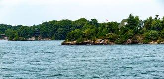 Mille isole vicino a Kingston Ontario immagini stock libere da diritti