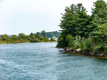 Mille isole vicino a Kingston Ontario immagini stock
