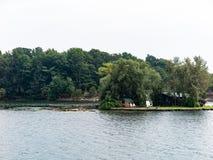 Mille isole vicino a Kingston Ontario fotografia stock