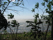 Mille Lacs Lake. Hot Summer on Mille Lacs Lake Aitkin Minnesota Royalty Free Stock Photos