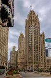 Mille magnifique - avenue du Michigan, Chicago Images stock