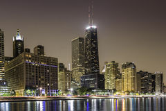Mille magnifique du centre de Chicago images libres de droits