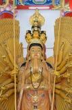 Mille-mano Quan Yin Bodhisattva immagine stock