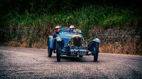 Mille miglia 2015集会ABC 1100 1929年 免版税库存图片
