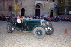 Mille Miglia. The Mille Miglia was an open-road endurance race which took place in Italy twenty-four times from 1927 to 1957 (thirteen before the war, eleven Stock Images