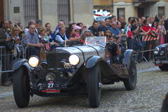 Mille miglia 2009. Mille miglia in Parma may 2009 Stock Photo