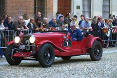 Mille miglia 2009 Stock Photo