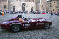 Mille miglia 2009. Mille miglia in Parma may 2009 Stock Photography