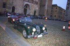 Mille miglia 2009. Mille miglia in Parma may 2009 Royalty Free Stock Photo