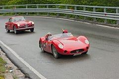 Mille Miglia 2012年 图库摄影