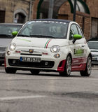 Mille-miglia abart 2014 Fiats 500 Lizenzfreie Stockfotos