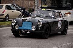 Mille miglia Aston Martin DB 2 1950 Royalty Free Stock Photos