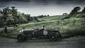 Mille miglia 2015 BENTLEY 4 5 Litre Supercharged 1930 Stock Photo