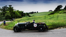 Mille miglia 2015 BENTLEY 4 5 Litre Supercharged 1930 Stock Photos