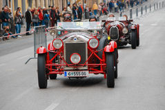 The Mille Miglia 2014 Royalty Free Stock Photography