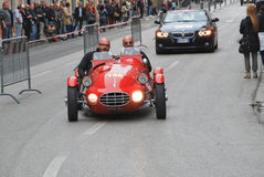 The Mille Miglia 2014 Stock Photography