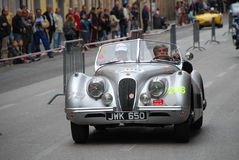 The Mille Miglia 2014 Stock Image