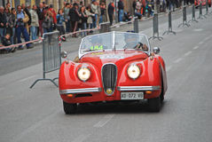 The Mille Miglia 2014 Stock Photos