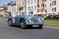 Mille Miglia,the famous race for retro cars Stock Images