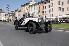 Mille Miglia,the famous race for retro cars Royalty Free Stock Photography