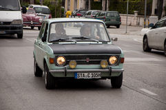 Mille miglia 2014 fiat 128 Stock Photos
