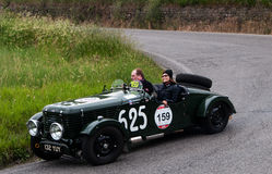 Mille miglia 2015 HEALEY  Duncan Drone  1947 Royalty Free Stock Images