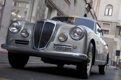 Mille Miglia, het beroemde ras voor retro auto's Royalty-vrije Stock Foto's