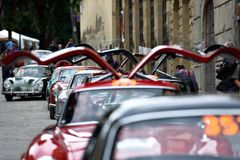 Mille-miglia historisches Rennen, Italien VIII stockfotografie