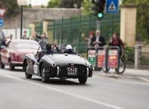 Mille-miglia 2014 im fano Stockbild